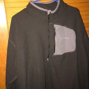 Men's 2xl Omni wick Columbia half zip